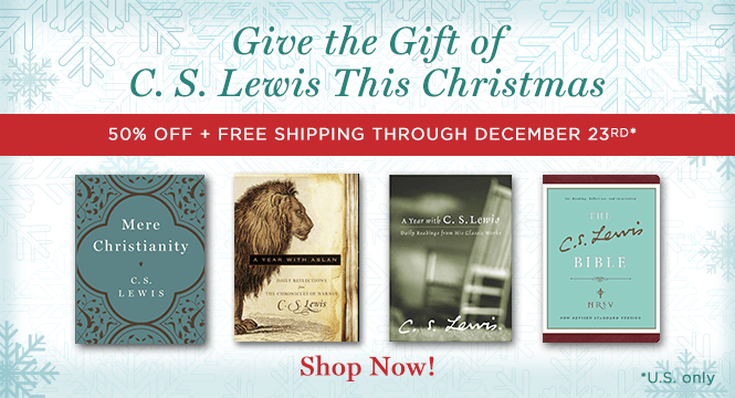 50% Off + Free Shipping on Select C. S. Lewis Gift Books Through 12/23 (U.S. only)